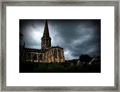 Framed Print featuring the photograph English Church by Karen Kersey
