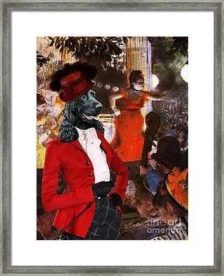 English Cocker Spaniel Art Canvas Print Framed Print