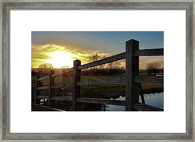 English Countryside Framed Print