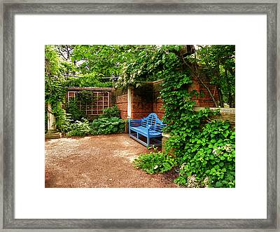 English Garden Framed Print