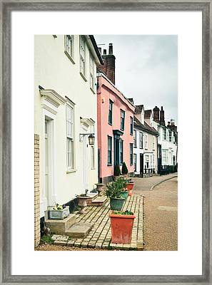 English Houses Framed Print by Tom Gowanlock