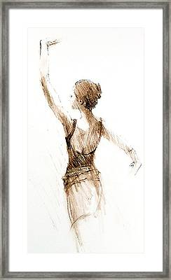 English National Ballet Student Framed Print by Jackie Simmonds