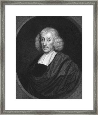 English Naturalist John Ray Framed Print by Underwood Archives