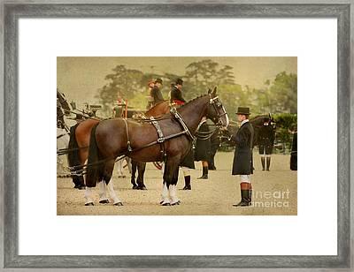 English Postcard Framed Print by Dorota Kudyba