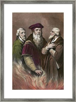 English Reformers Framed Print
