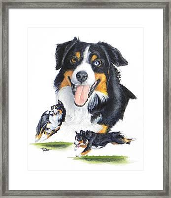 English Shepherd Framed Print