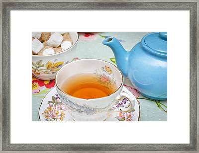 English Tea Framed Print