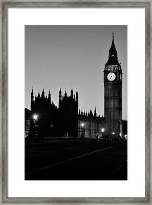 English Twilight Framed Print