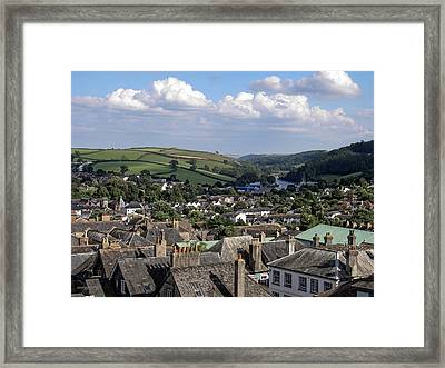 English Village Framed Print