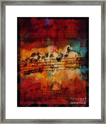 Framed Print featuring the digital art Engulfed by Lon Chaffin