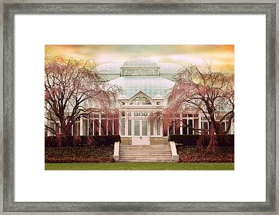 Enid A. Haupt Conservatory Framed Print by Jessica Jenney