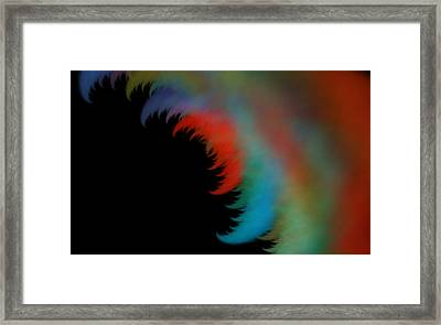 Enigma And Thoughts Framed Print