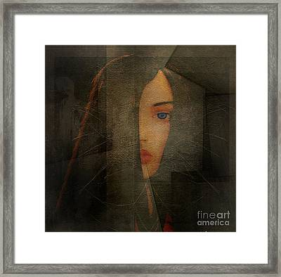 Enigma Framed Print by Irma BACKELANT GALLERIES