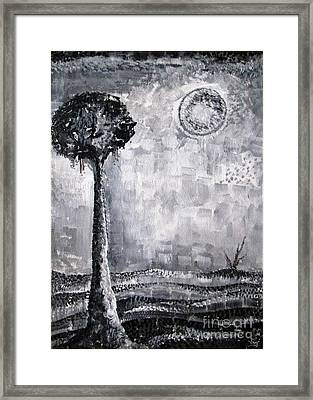 Enigmatic Framed Print by Prajakta P