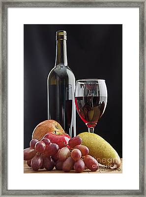Enjoy Framed Print by Leona Arsenault