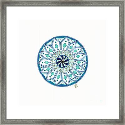 Enjoy The Breath Of Life Framed Print by Signe  Beatrice