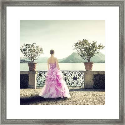 enjoying Italy Framed Print by Joana Kruse