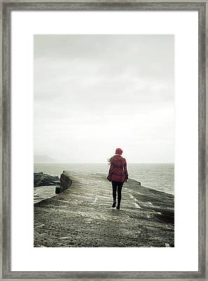 Enjoying Winter Framed Print by Joana Kruse