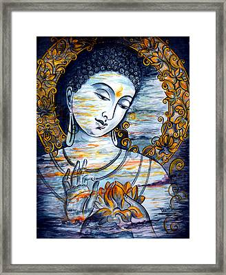 Enlightened  Framed Print by Harsh Malik