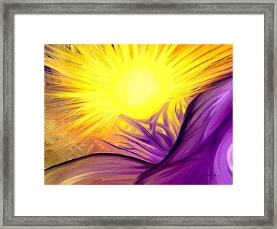 Enlighten Framed Print