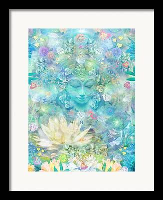 Spiritual Teacher Framed Prints