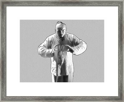 Enlightened One Framed Print by Dan Sproul