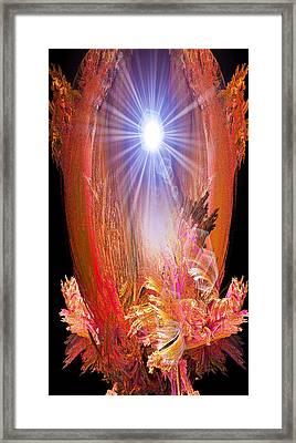 Enlightened One Framed Print by Michael Durst