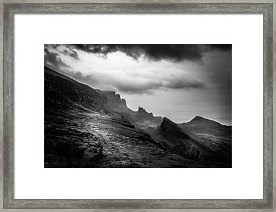 Enlightened Path Framed Print by Yuri Fineart