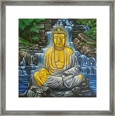 Enlightened Framed Print by Ruben Archuleta - Art Gallery