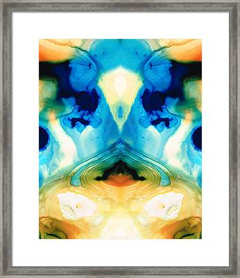 Enlightenment - Abstract Art By Sharon Cummings Framed Print by Sharon Cummings