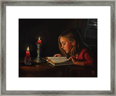 Enlightenment Framed Print by Glenn Beasley
