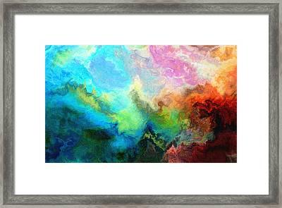 Enlightenment Framed Print by Jury Onyxman