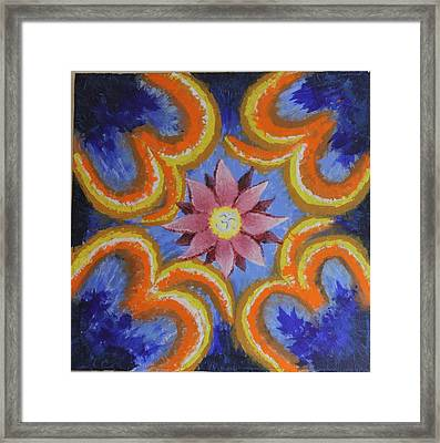 Enlightenment Framed Print by R B