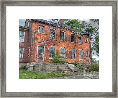 Enlisted Men's Family Quarters Framed Print