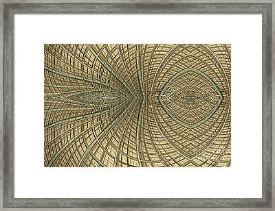 Enmeshed Framed Print