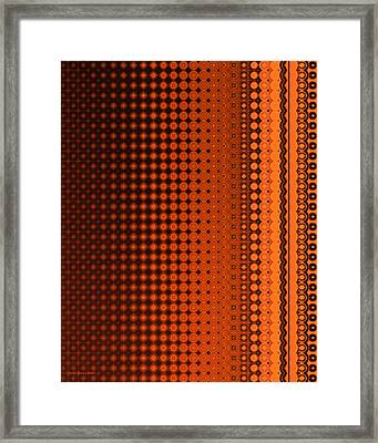 Enmeshed Framed Print by Judi Suni Hall