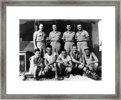 Enola Gay Crew, 1945 Framed Print