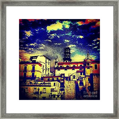 Enraptured By Amalfi Framed Print by H Hoffman
