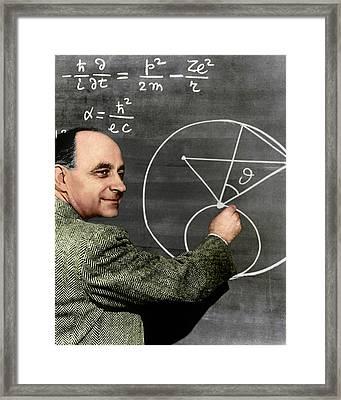 Enrico Fermi Framed Print