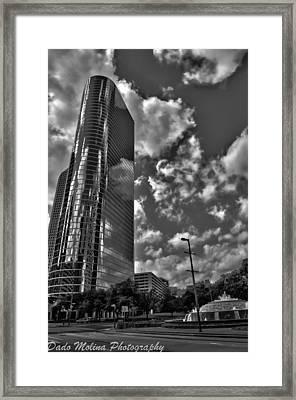 Enron Framed Print by Dado Molina