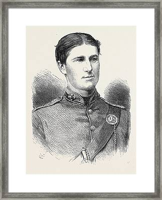 Ensign Humphry Cambridge University Rifle Corps Winner Framed Print