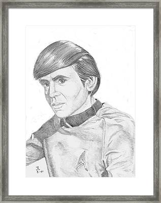 Ensign Pavel Chekov Framed Print