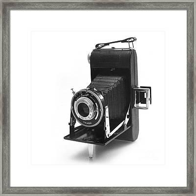 Ensign Selfix 420 Framed Print by Paul Cowan
