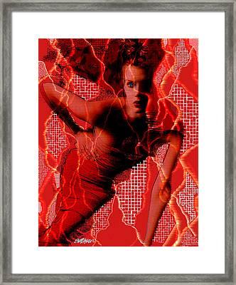 Ensnared Framed Print by Seth Weaver
