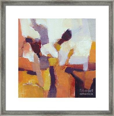 Entangled I Framed Print by Virginia Dauth
