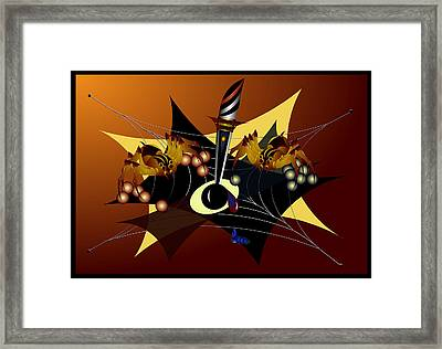 Tensions Framed Print