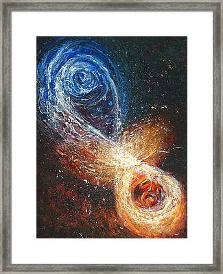 Entanglement Framed Print