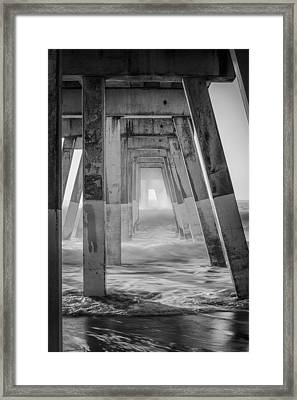 Enter At Your Own Risk Framed Print