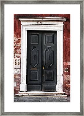 Enter Framed Print by John Rizzuto
