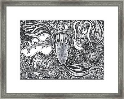 Enter My World Framed Print
